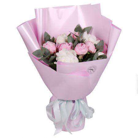 Bouquet 15 peonies