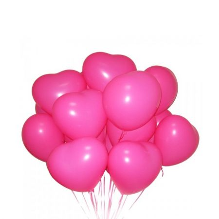 Order 15 helium balloons ''Heart'' in the online store