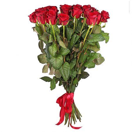 Bouquet 25 roses 100 cm