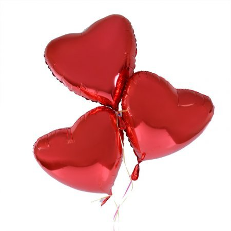 Product 3 balloons heart