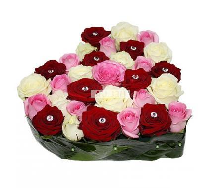 Bouquet La vie en rose