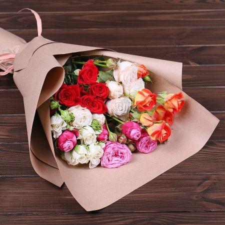 Bouquet 5 spray roses