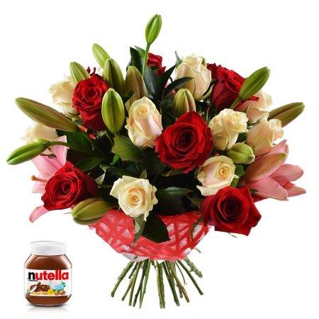 Bouquet Jasmine + nutella