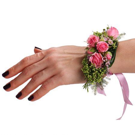 Bouquet Flower bracelet Rose