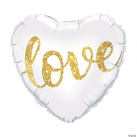 Product Love Glitter Heart Balloon