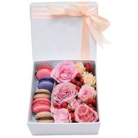 Product Box with macarons