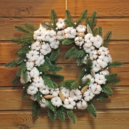 Product Christmas cotton wreath