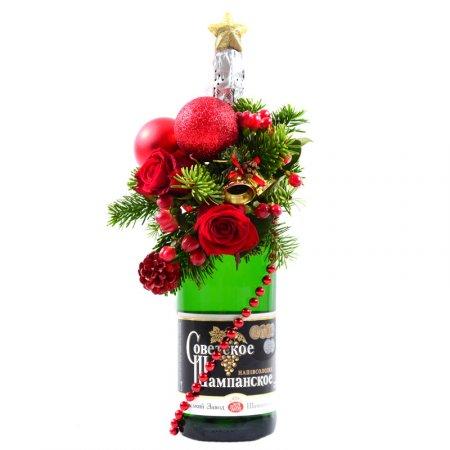 Bouquet Christmas splash of emotions