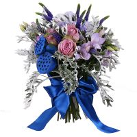 Buy delicate bouquet ''Purple Dawn'' with delivery to any destination