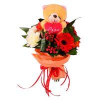Bouquet Teddy surprise