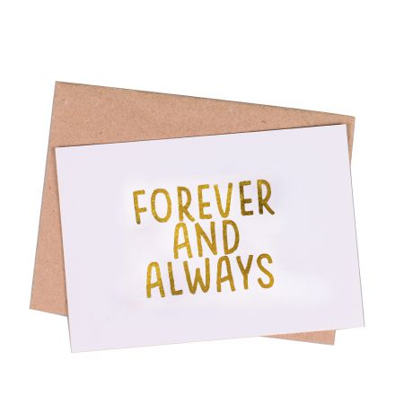 Product Greeting card  Forever