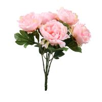 Artificial peony pink   order HQ flowers with delivery