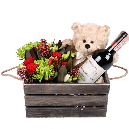 Bouquet Gift Set For You