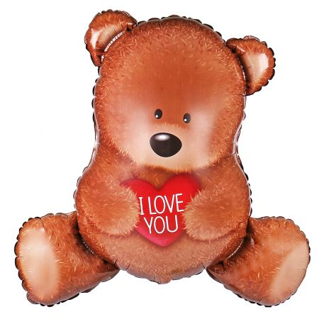 Product Balloon Teddy with a heart