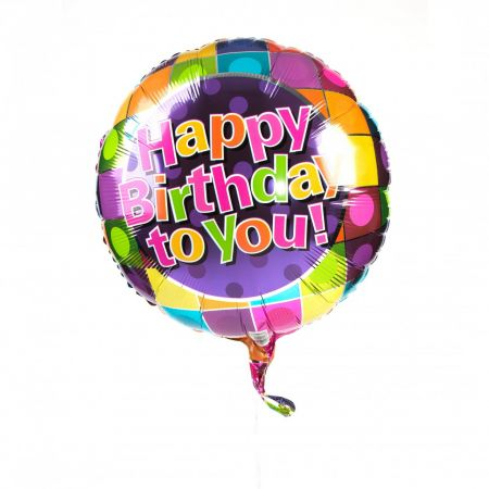 Order Happy Birthday Foil Balloons by the Piece with delivery