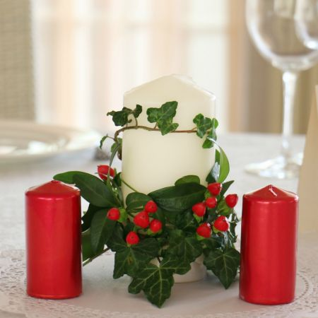 Product Wedding candle centerpiece