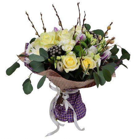 Bouquet Floral letter
