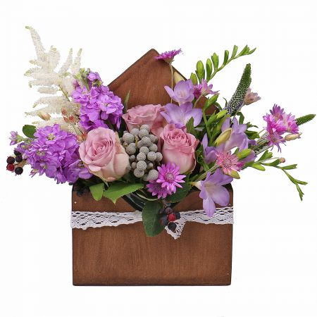 Bouquet Lilac envelope
